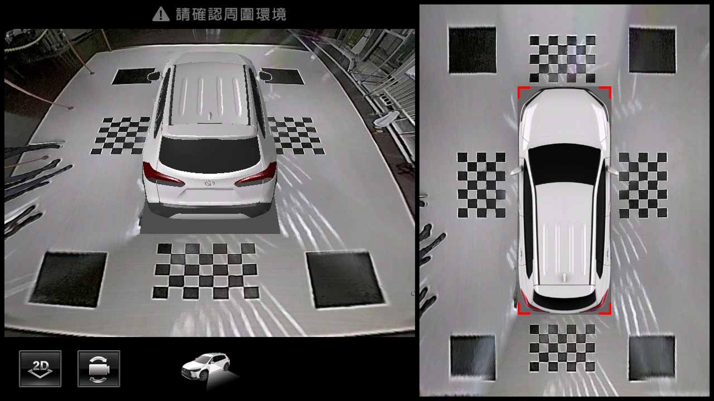 PVM 環景影像輔助系統。