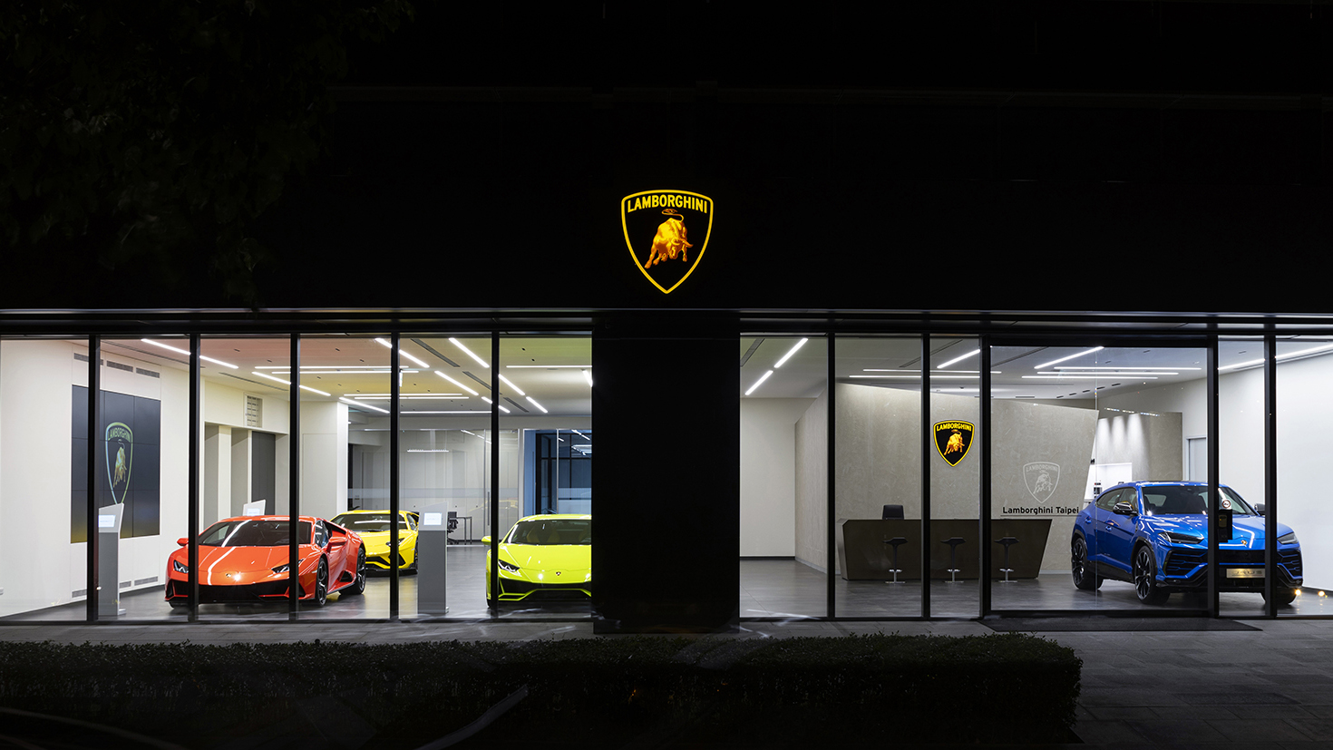 Lamborghini Taipei 展間再升級,強化全臺服務網絡