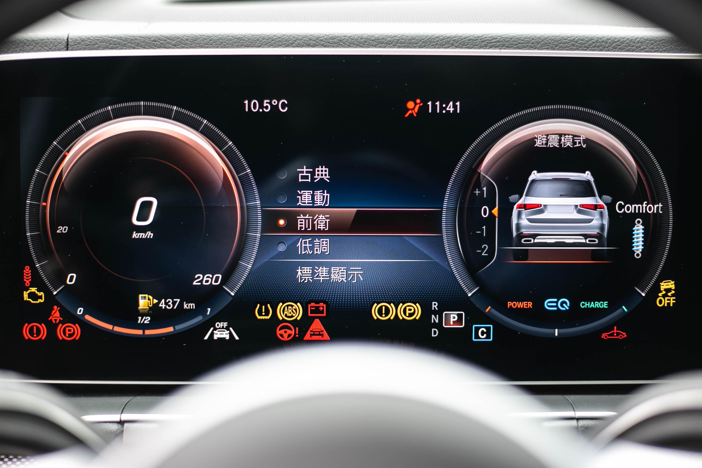 儀表板具備多種風格選擇。