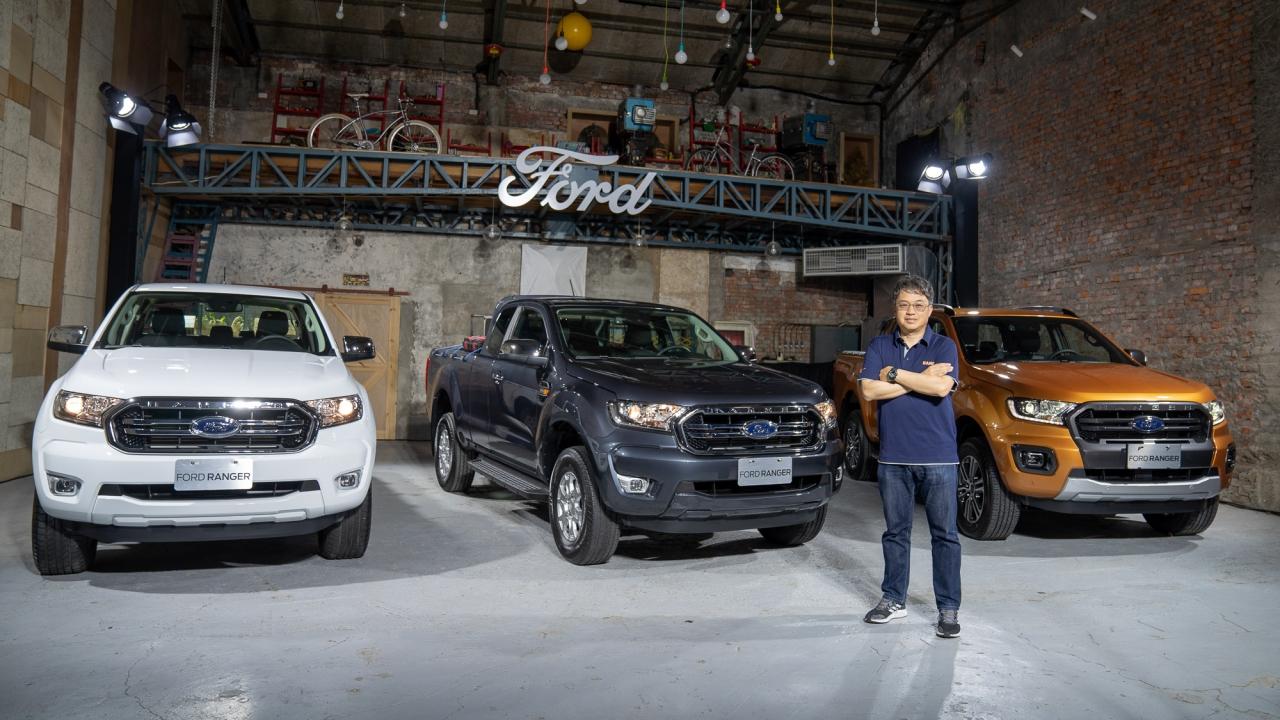 全新 Ford Ranger 職人型、全能型登場,舊換新最低百萬有找
