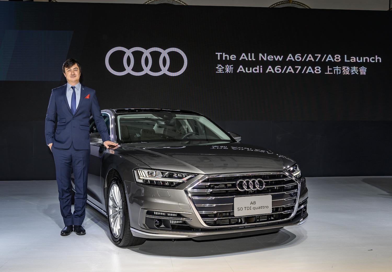 台灣奧迪日前一口氣發表新世代 A8、A7 Sportback、A6 及 A6 Avant,總裁 Matthias Schepers 同步介紹整頓公司的「三大策略」。