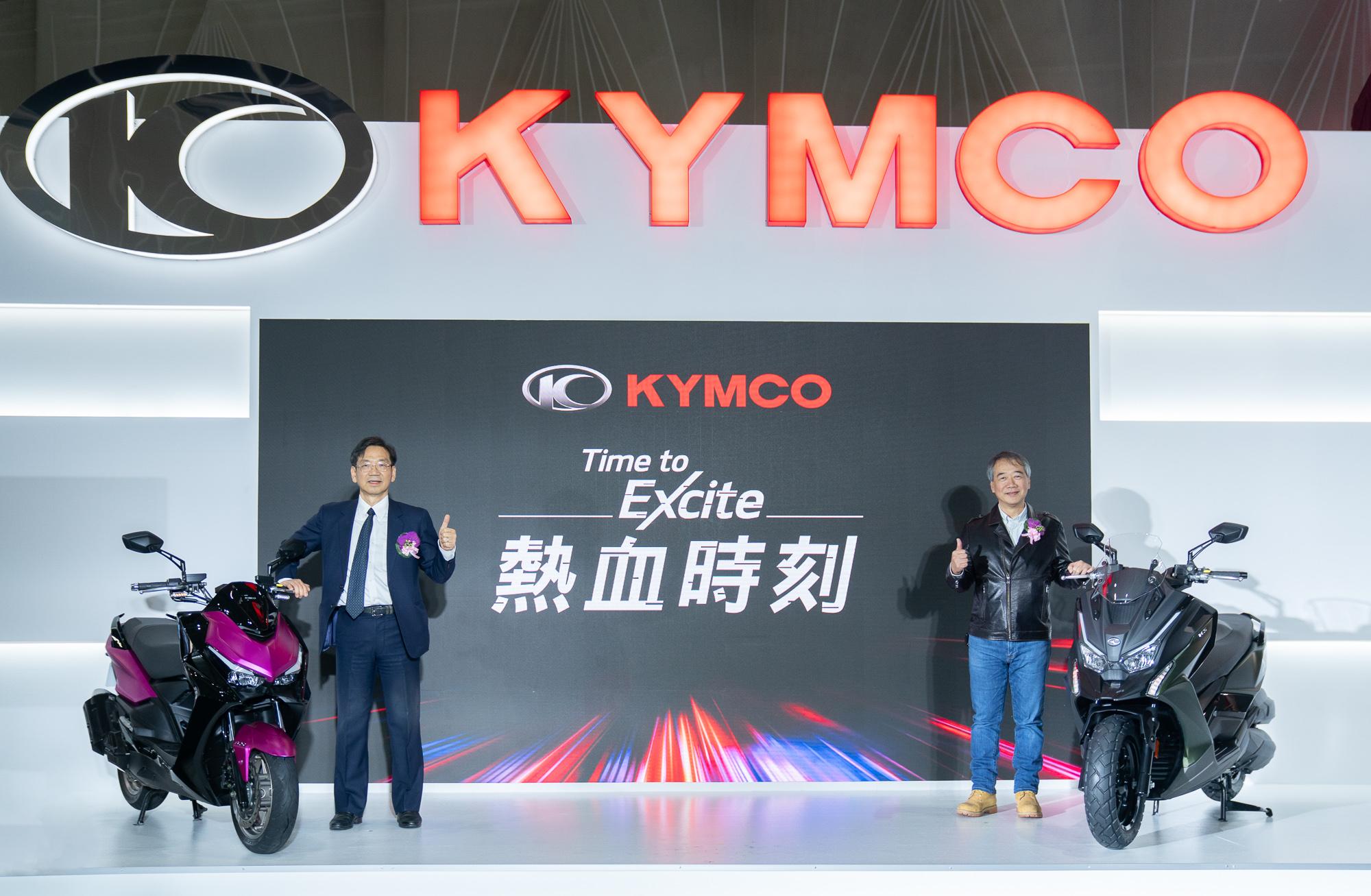 Kymco 執行長柯俊斌、 營業部黃俊平經理正式公佈 DT X360 官方售價,同時宣布 KRV 全省試乘活動即刻展開!