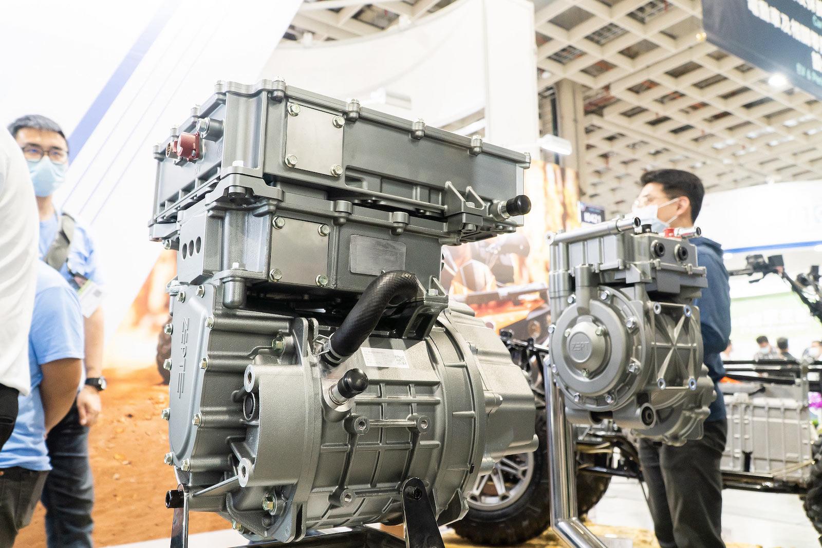 ZEPT捷能動力科技所推出的第一代產品EDM1-P95kW三合一動力系統,適用情境包括共享通勤、物流載運…等等。