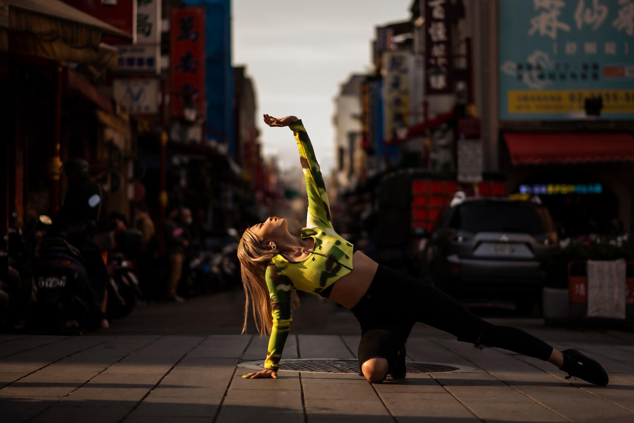 知名舞者囂張和哈妹讓世界看到台灣之美。