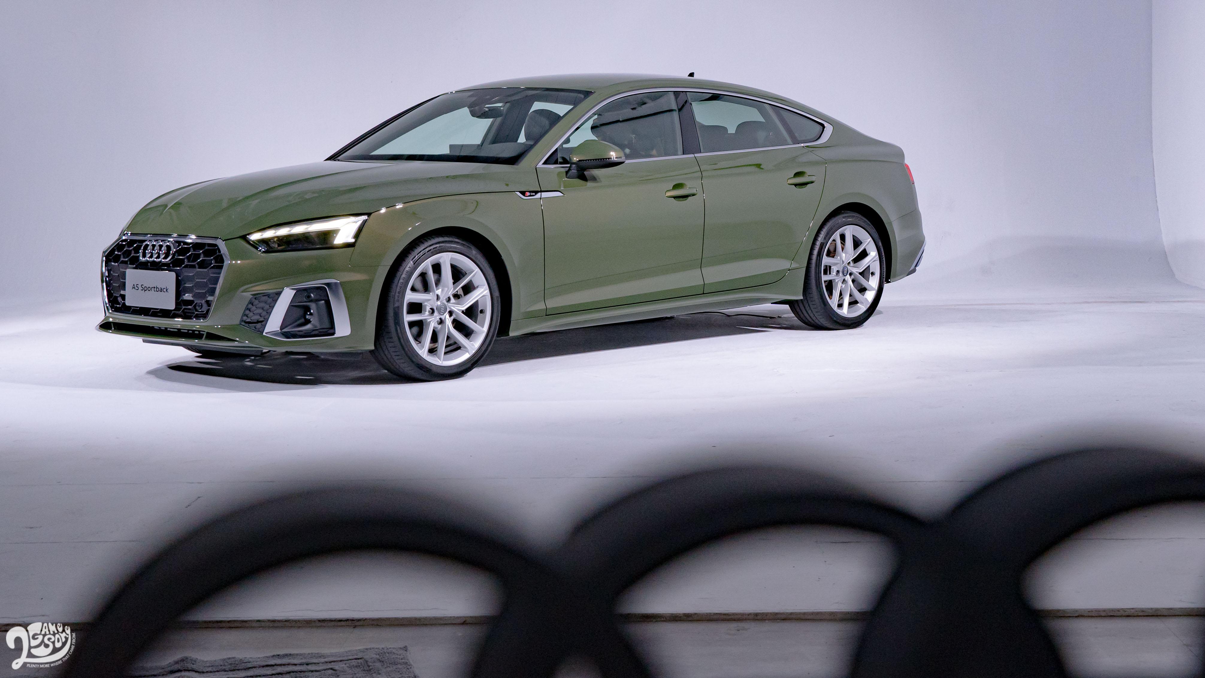 2021 Audi A5 Sportback 美背實拍 三車型 230 萬起