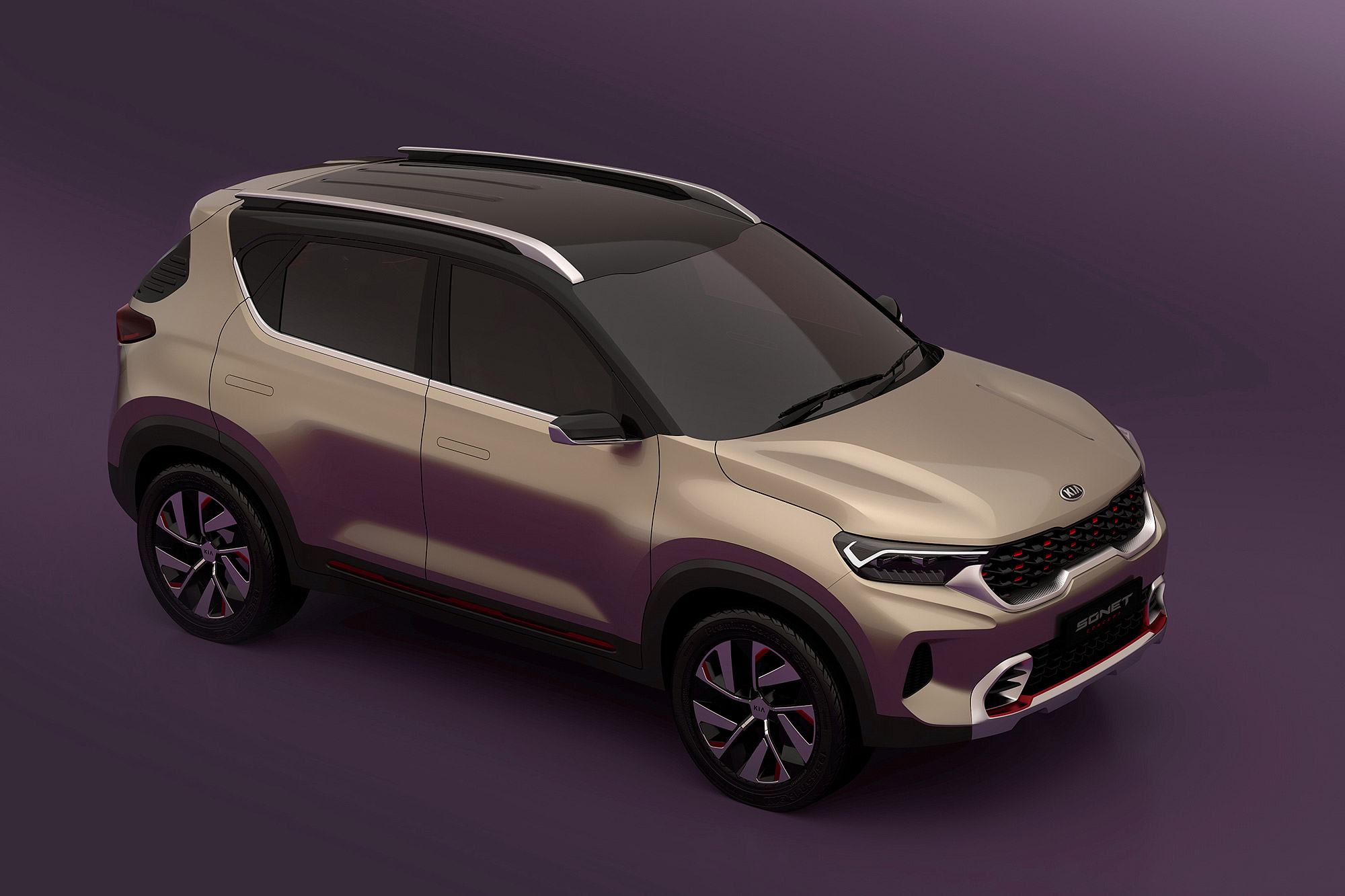 Sonet Concept 車格設定為小型跨界休旅。
