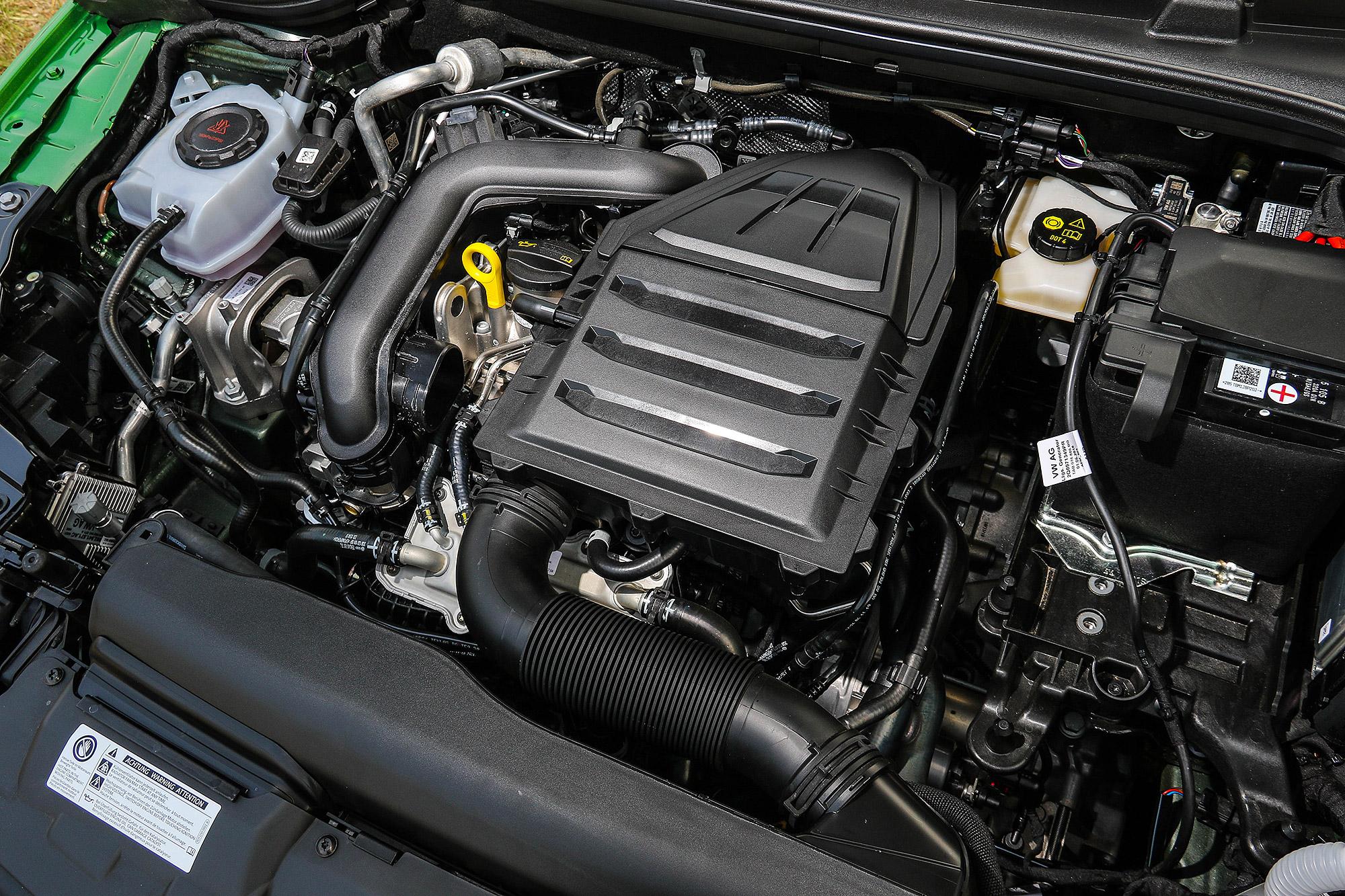 1.0 TSI 引擎具有 115 匹的最大馬力與 20.4 公斤米的最高扭力。