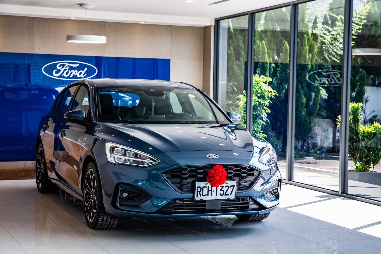 Ford Focus 躍升市場第二,台中交車中心落成