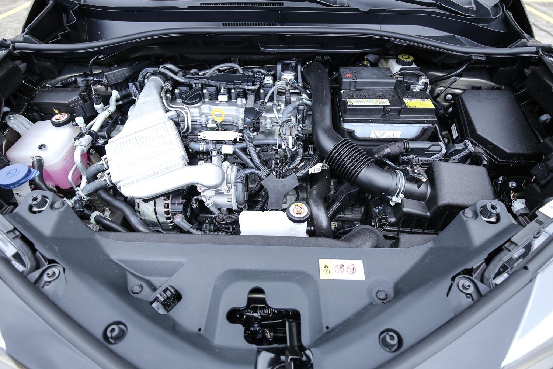 動力系統同樣搭載1.2升渦輪增壓四缸汽油引擎,具備 116ps/5200-5600rpm 最大馬力與 18.9kgm/1500-4000rpm 最大扭力輸出。