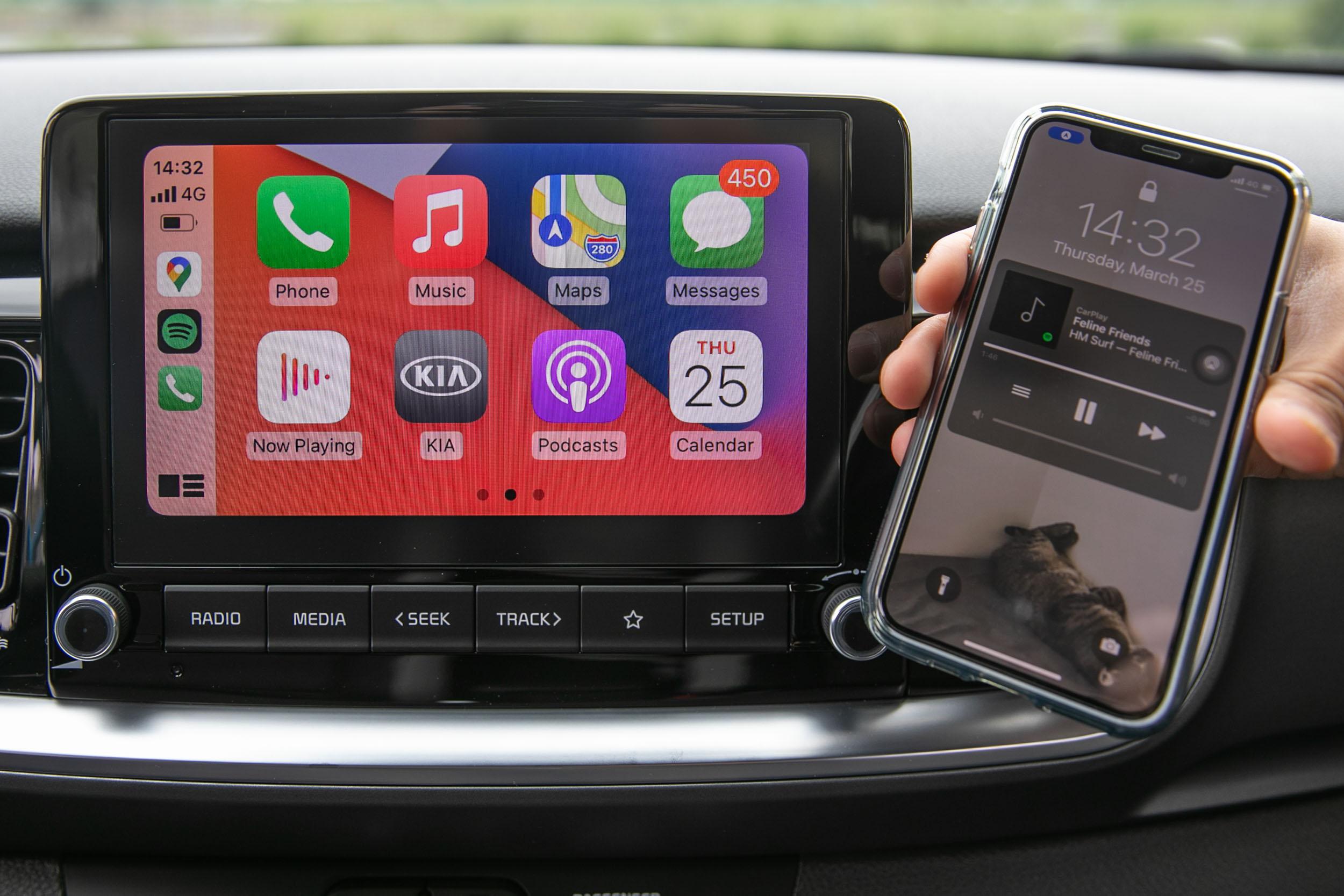 無線 Apple CarPlay 配備,切合許多現代人使用需求。