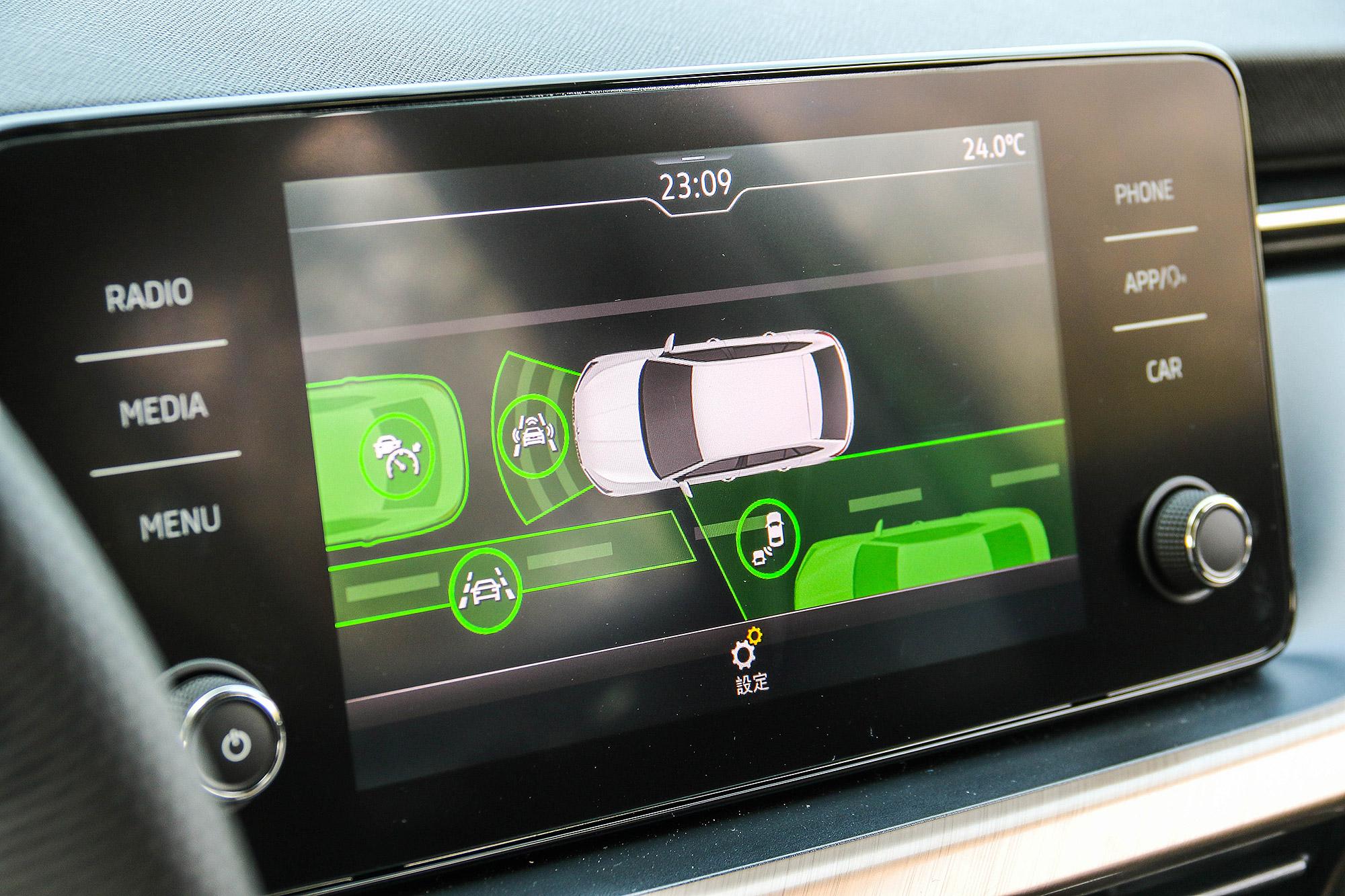 Scala 同樣配備有完整的 ADAS 先進駕駛輔助系統。