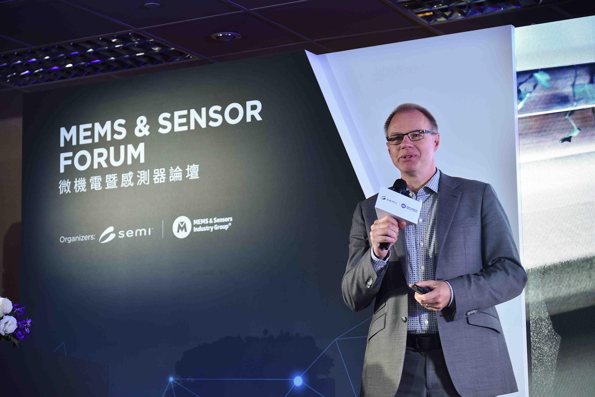 Audi 德國總部電子與半導體技術中心負責人 Berthold Hellenthal 受邀來台參與 2019 SEMICON Taiwan 微機電暨感測器論壇