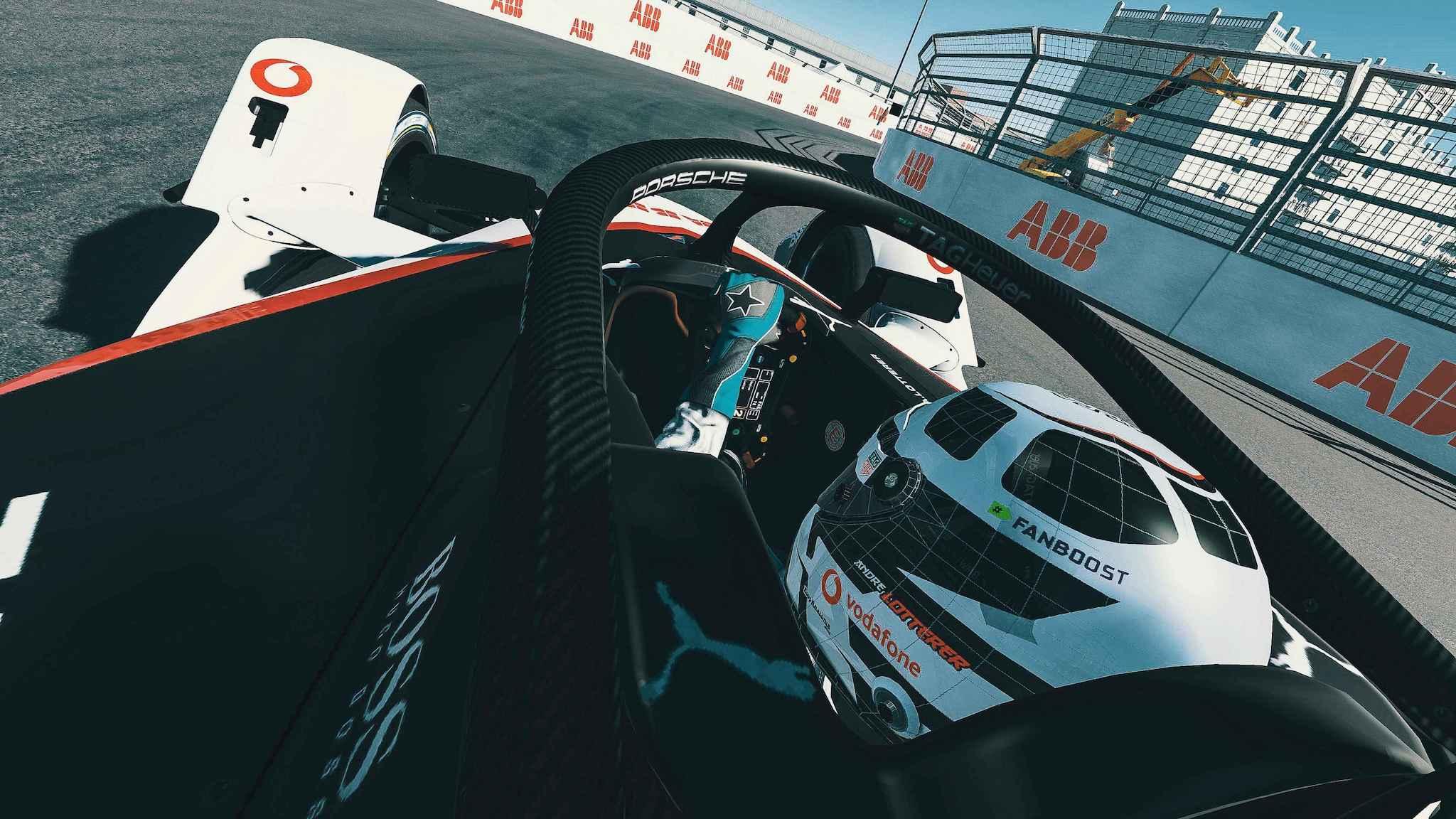 Formula E 居家電競賽,Porsche 虛擬紐約站贏得積分