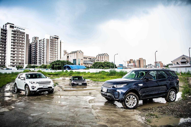 試了再說!Land Rover 九和汽車越野體驗中心登場