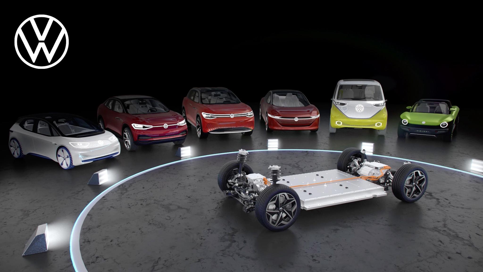 Volkswagen ID. 家族迅速壯大!七大電動車系 2023 年前目標產百萬台