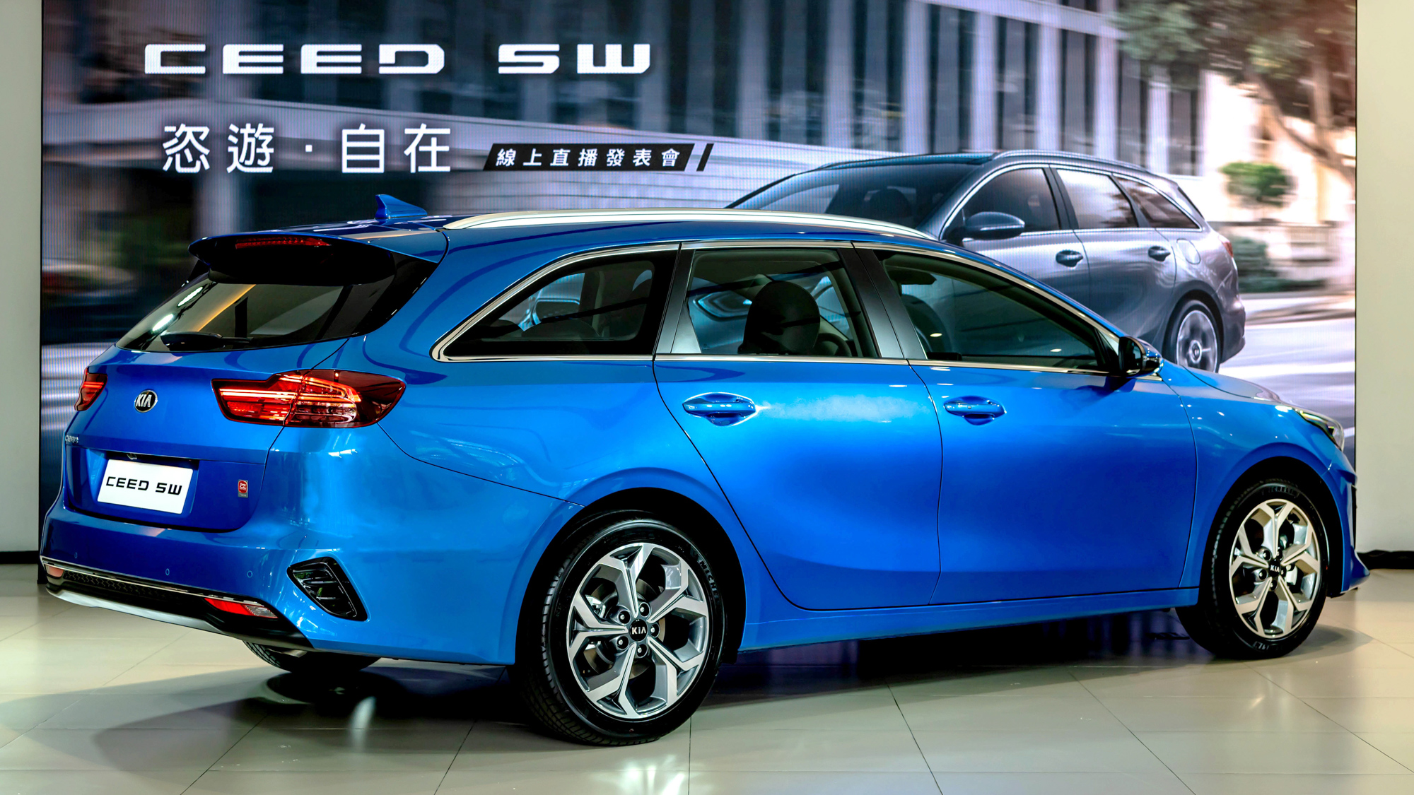 Kia Ceed Sportswagon 歐風進口旅行車 109. 8 萬上市