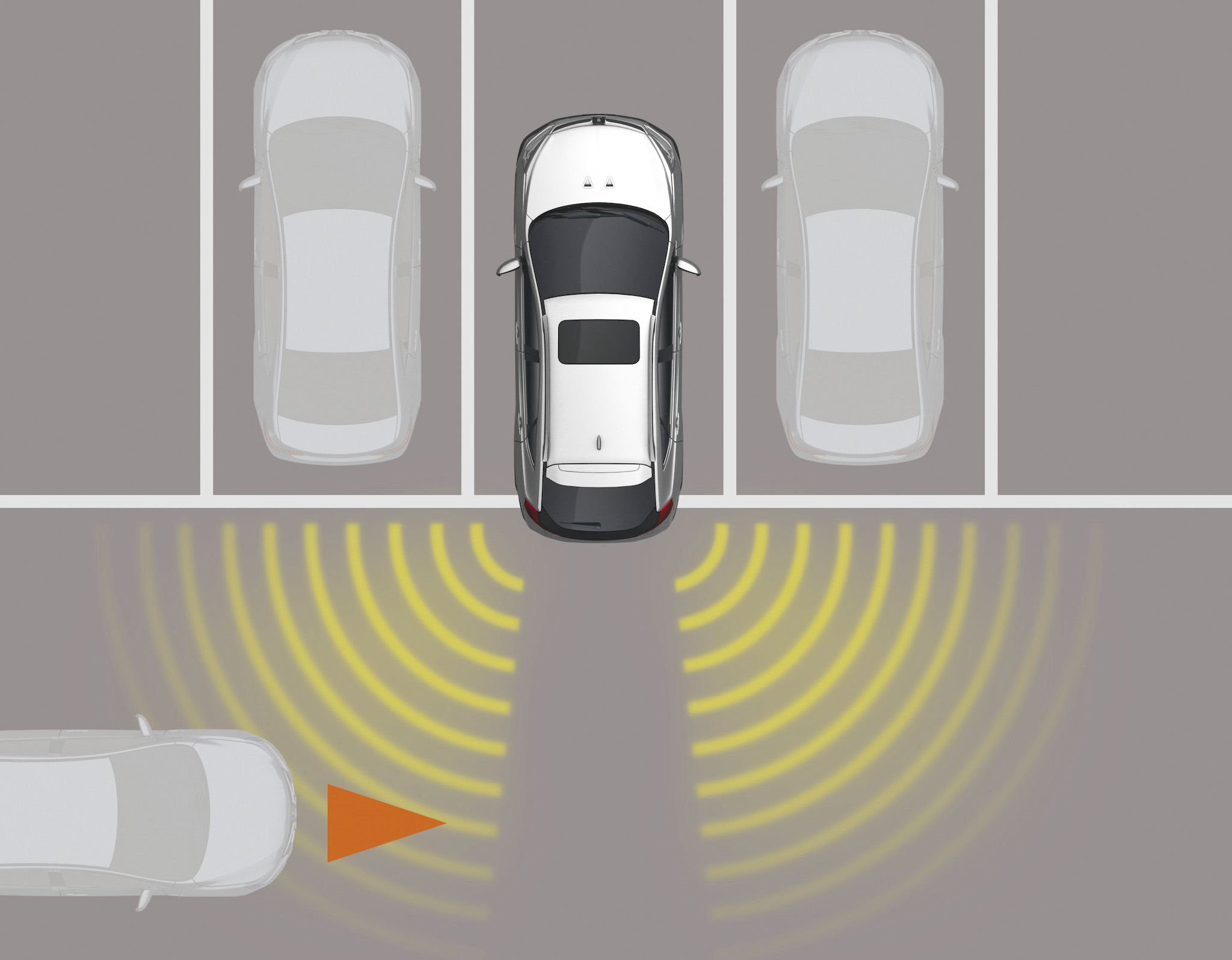U6 智遊版 RCTA 後方車側警示系統。