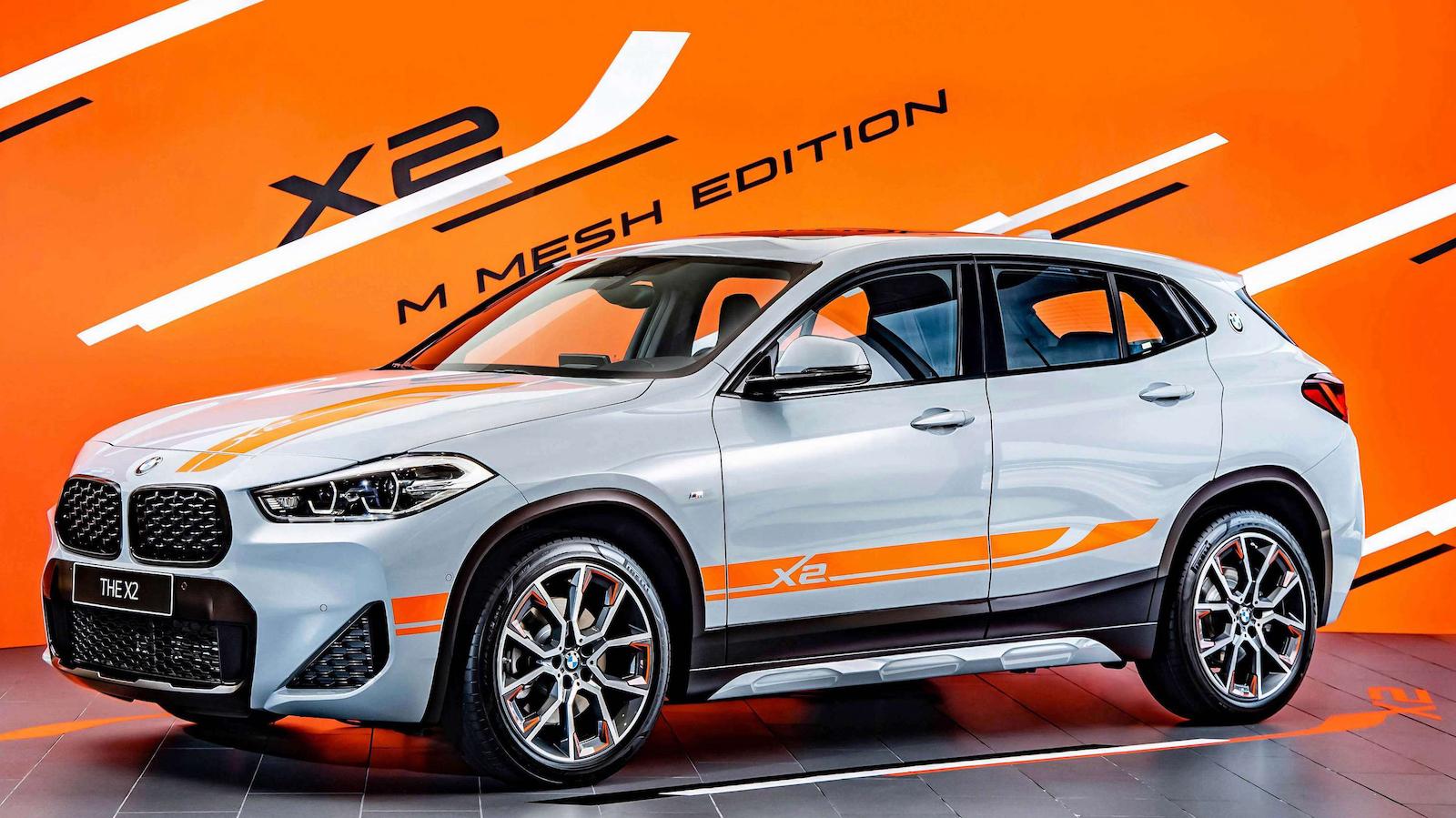 BMW X2 M Mesh Edition 218 萬跳色登場;sDrive18i Sport Edition 188 萬同步上市