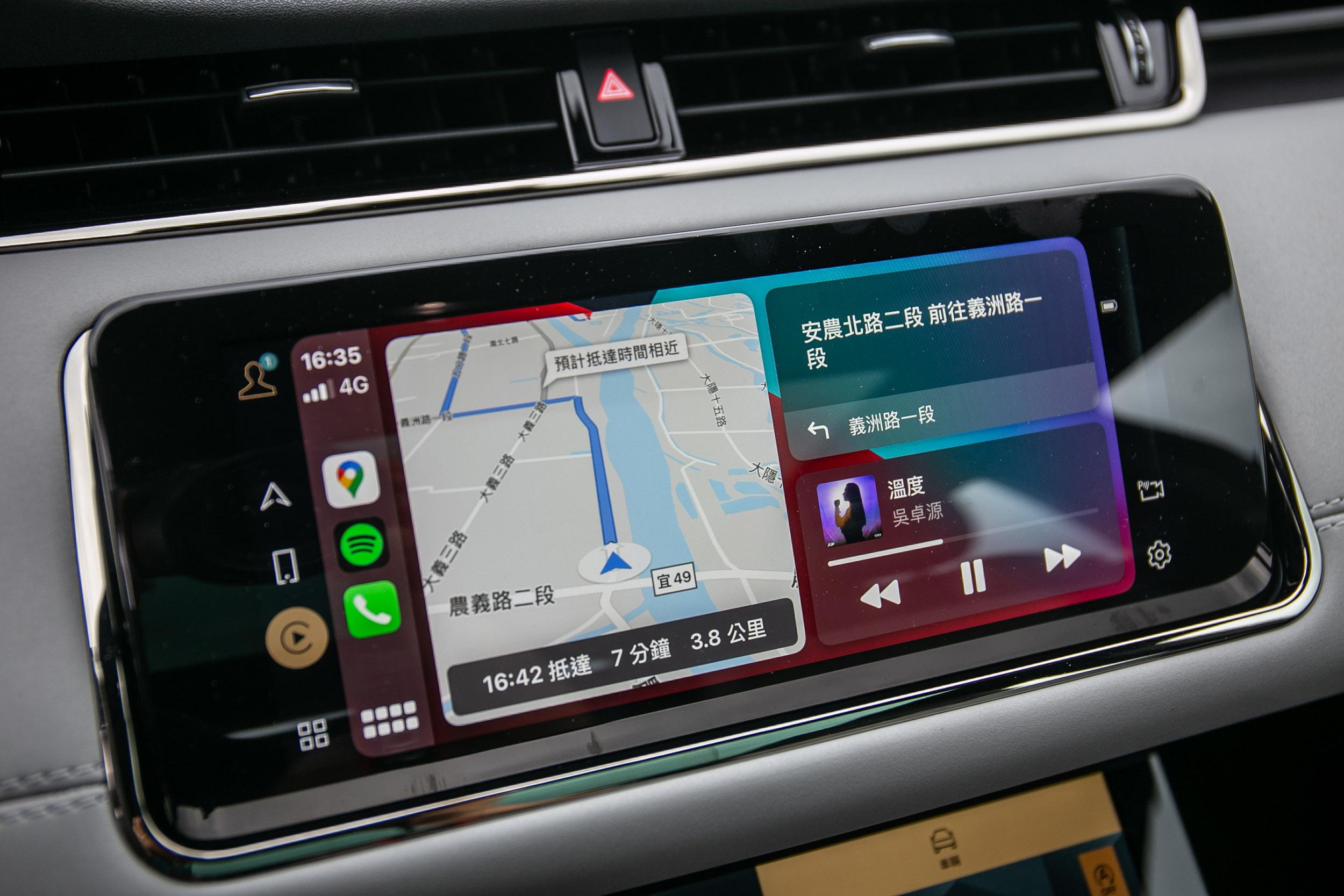 Apple CarPlay 系統連結仍為有線方式。