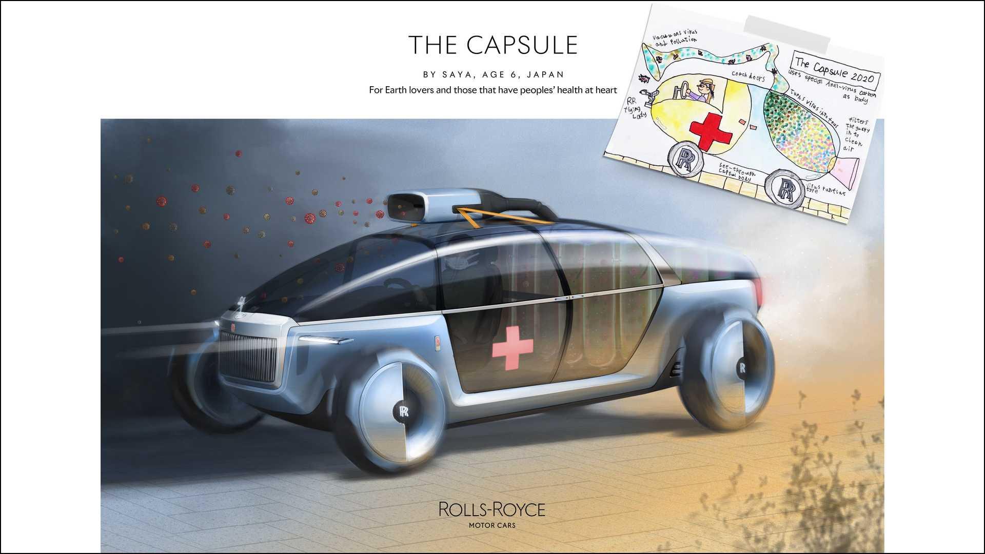 環境《勞斯萊斯膠囊》—— 來自日本的 6 歲青年設計師 Saya。