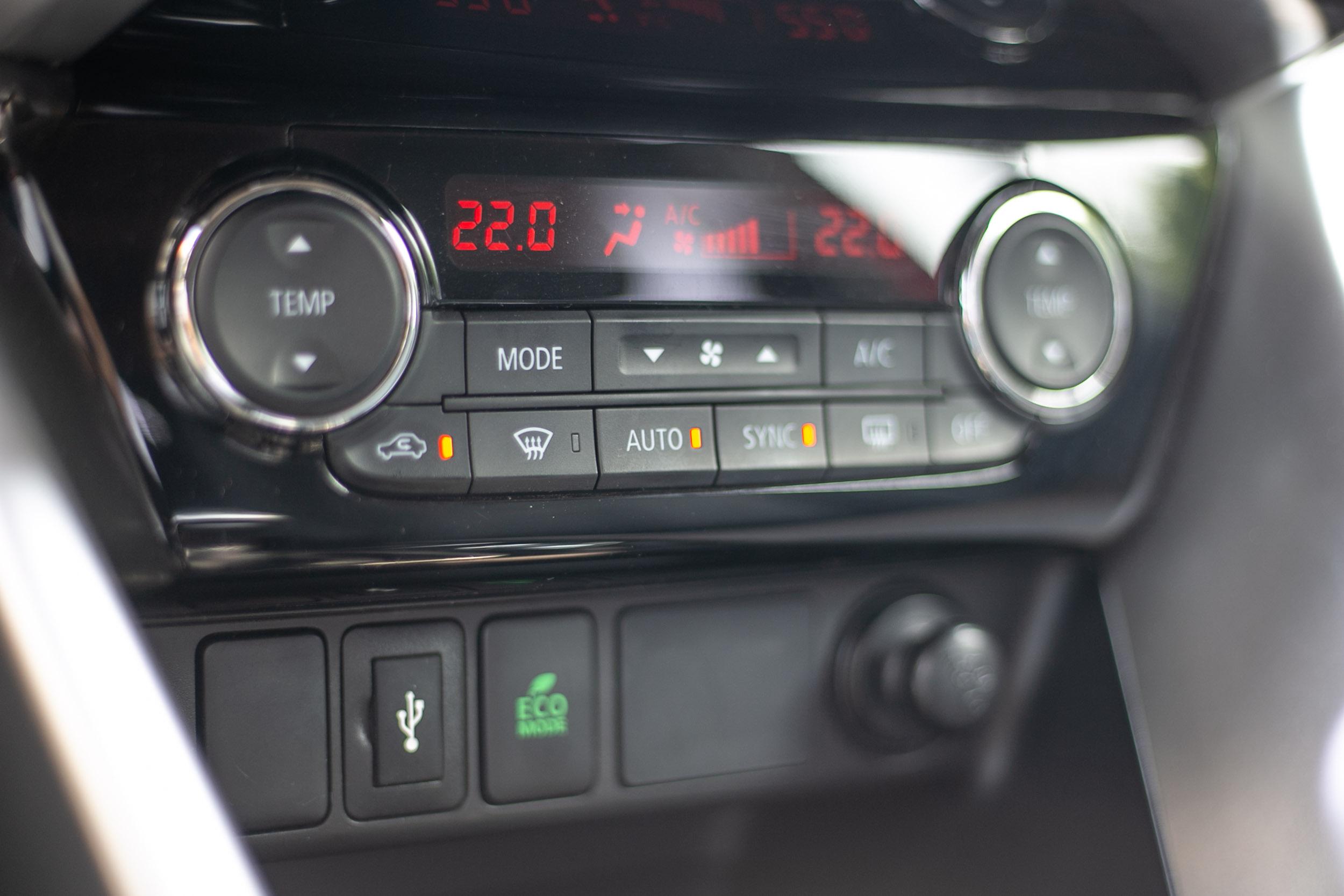 雙區恆溫空調(附粉塵過濾裝置)為車系標配。