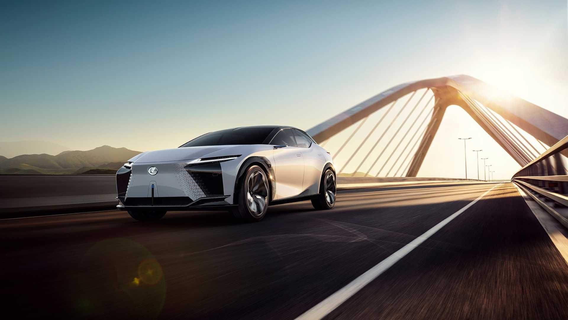 加強電力!Lexus 推出 LF-Z 電動概念車,預告 2025 年電動化佈局