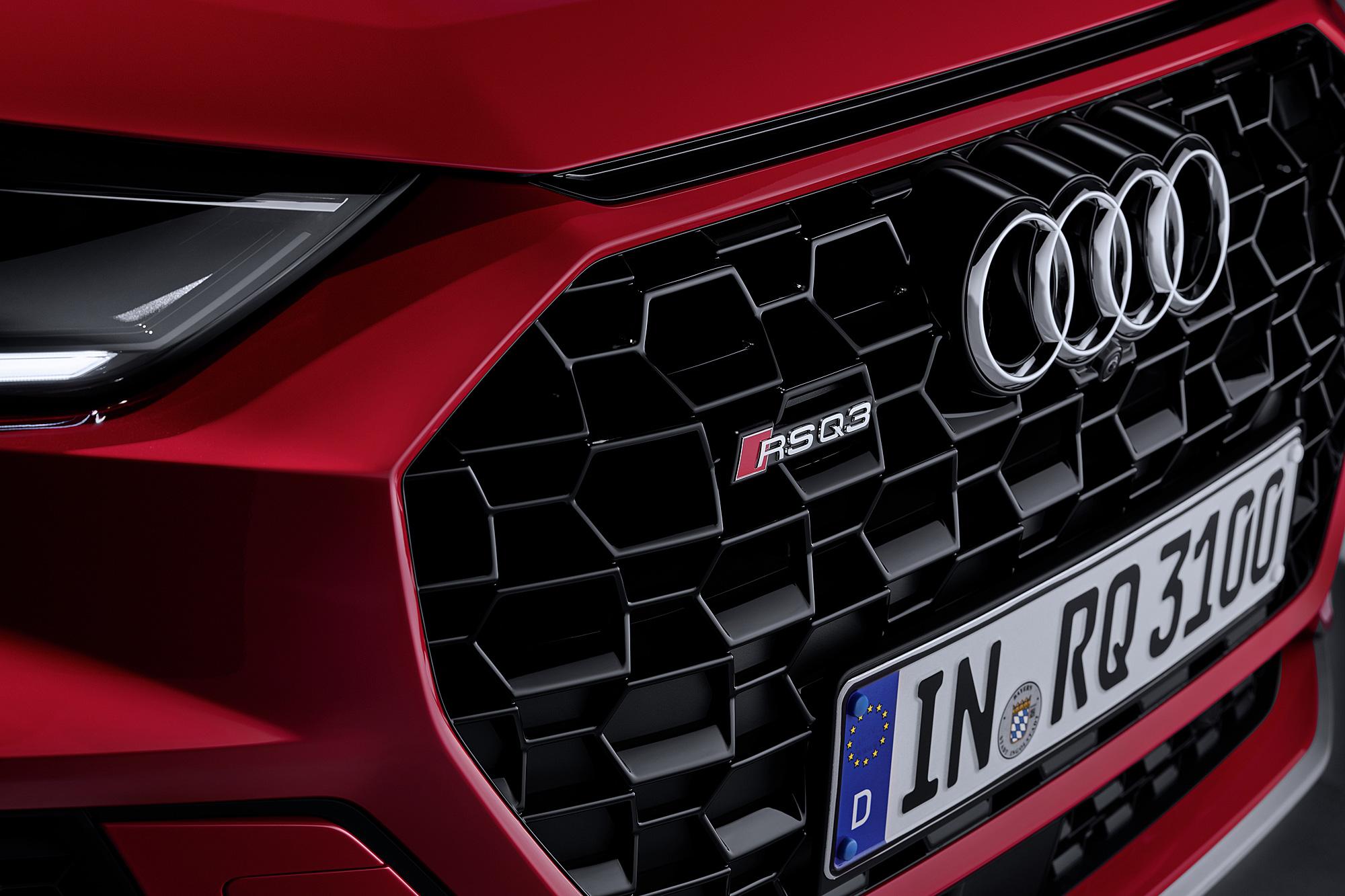 IAA 法蘭克福車展才剛發表 RS 6 Avant 與 RS 7 Sportback , RS Q3 以及 RS Q3 Sportback 隨後報到